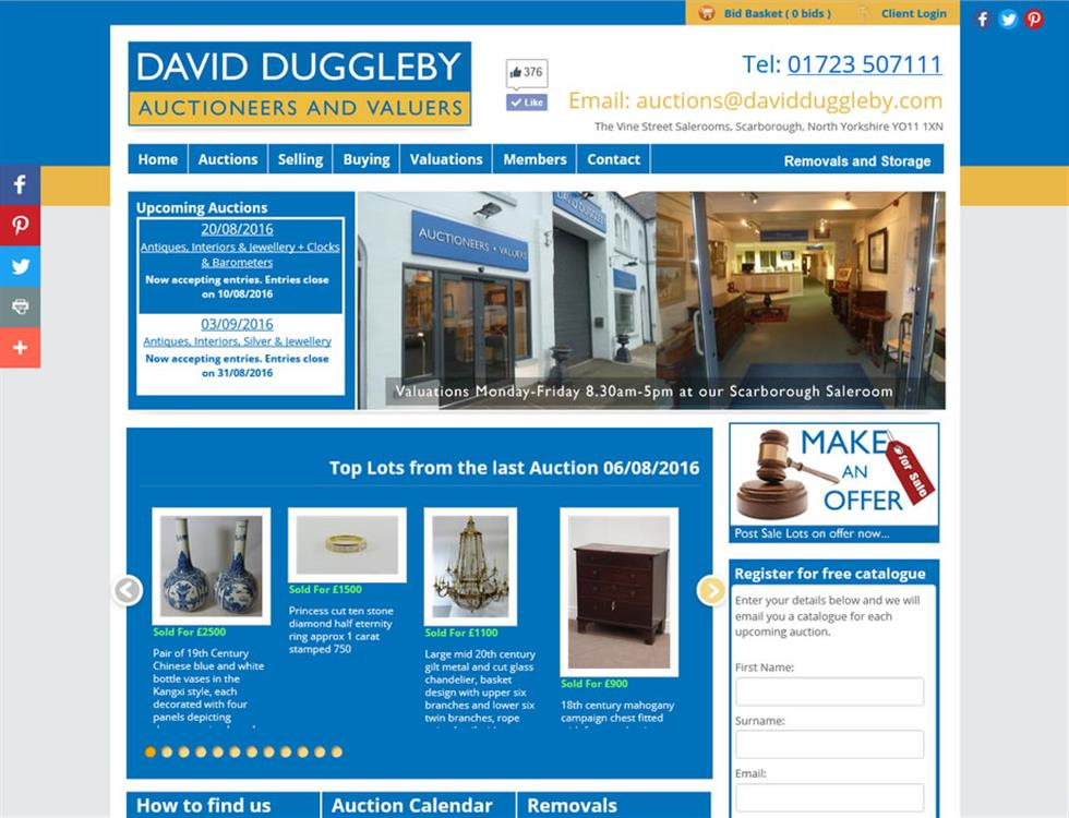 David Duggleby Auctions