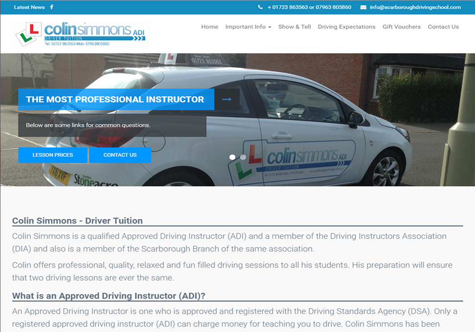 Scarboroughdrivingschool Homepage