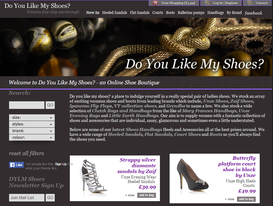 Doyoulikemyshoes Homepage