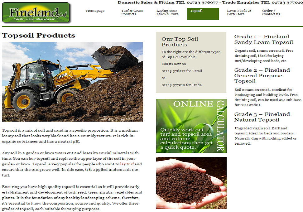 Fineland Turf Top Soil